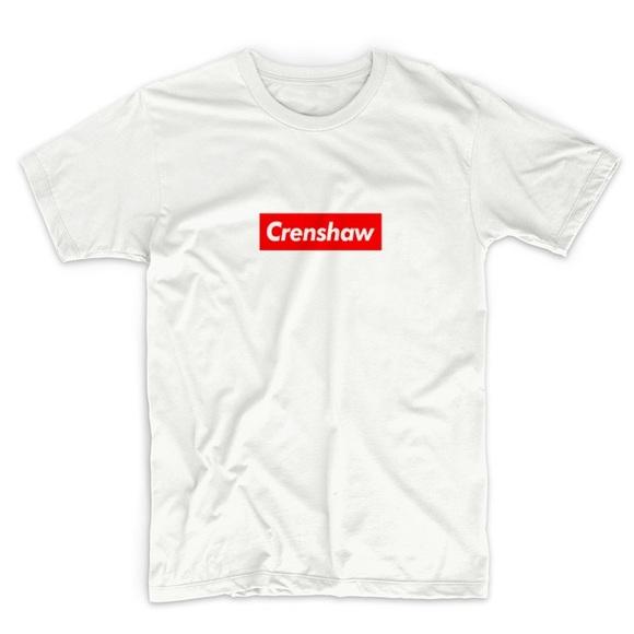 d1069752c2750 Crenshaw supreme style box logo T-shirt nipsey NWT